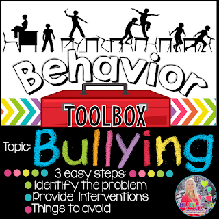 https://www.teacherspayteachers.com/Product/Behavior-Intervention-Toolbox-BULLYING-2282289