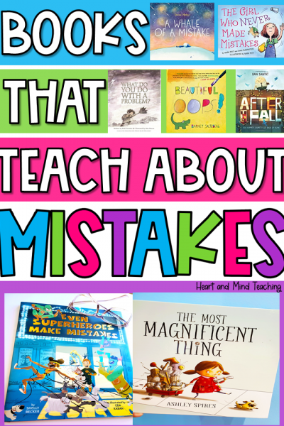 books about making mistakes