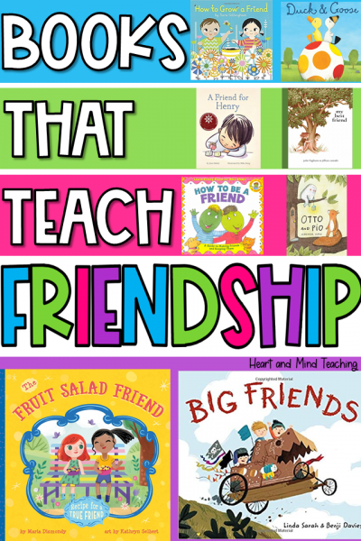 books that teach kids about friendship