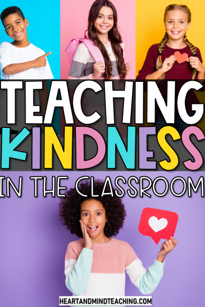 Teaching Kindness in the elementary classroom