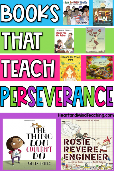 books that teach about perseverance