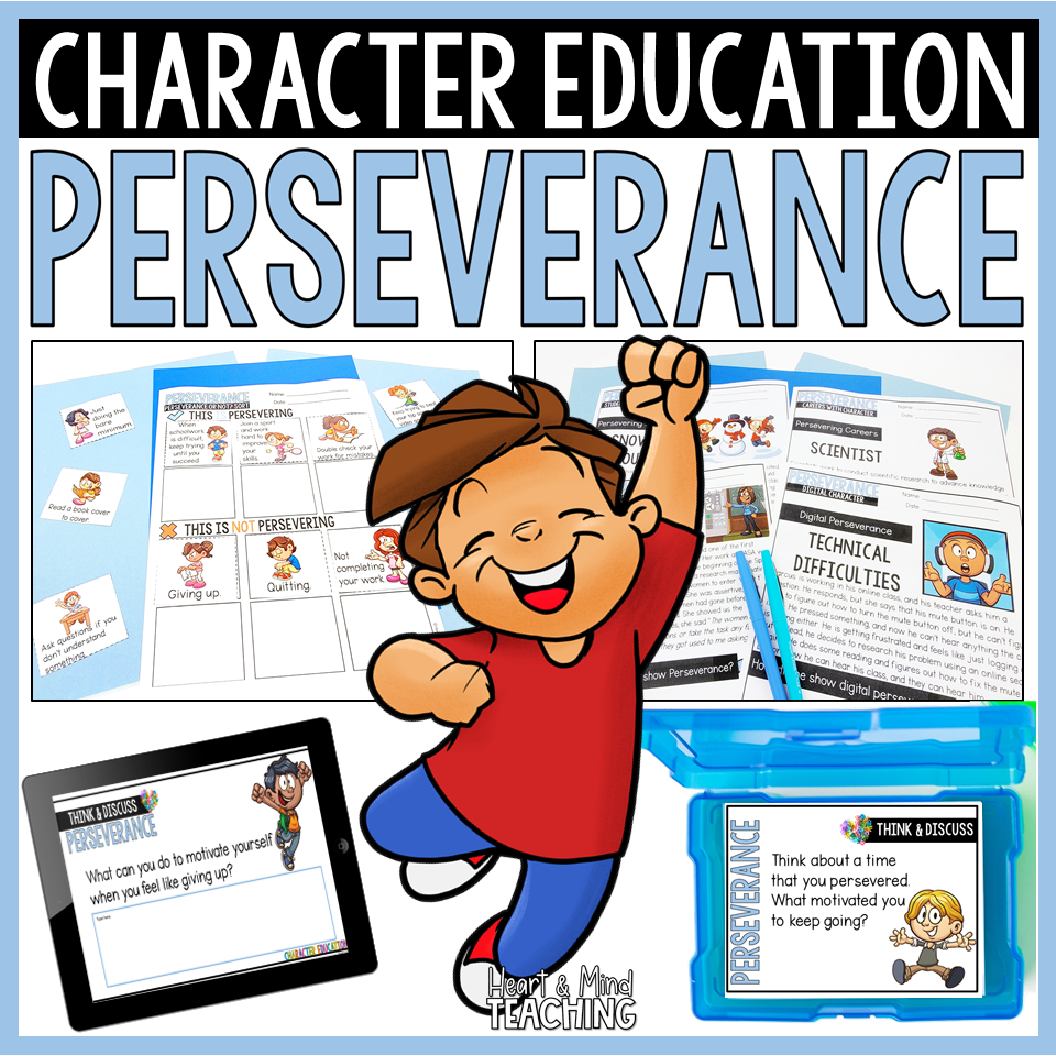 character ed perseverance